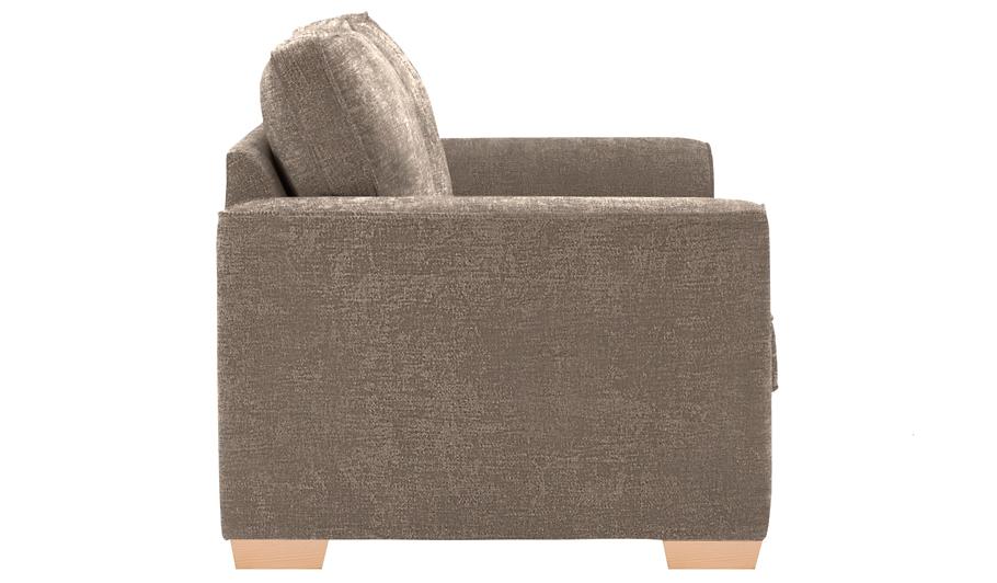 George Home Edmund Medium Sofa In Plush Velour Home