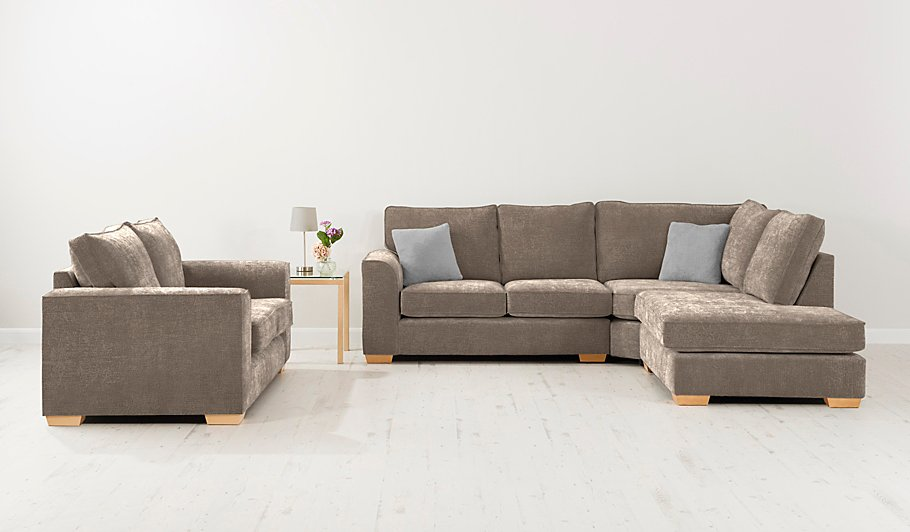 George home edmund sofa bed in plush velour home for Velour divan beds