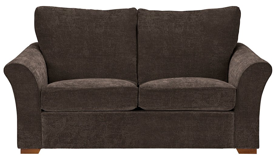 George home helena sofa bed in plush velour home for Velour divan beds