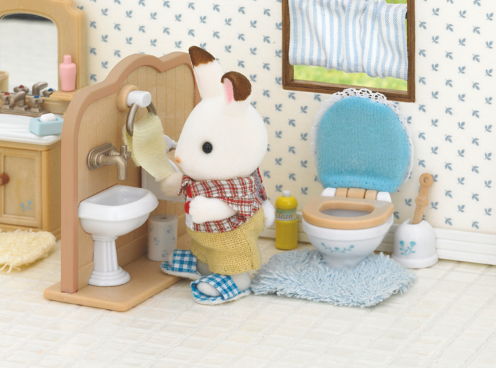 Awesome Sylvanian Families Bathroom Furniture  599  PicClick UK