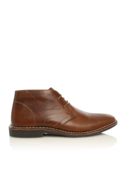 leather desert boots george at asda