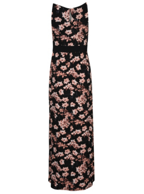 George floral maxi dress