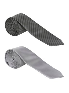 2 Pack Slim Ties