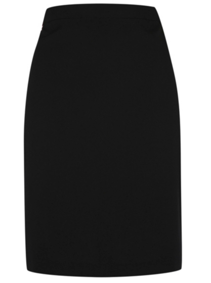 senior school pencil skirt black school george