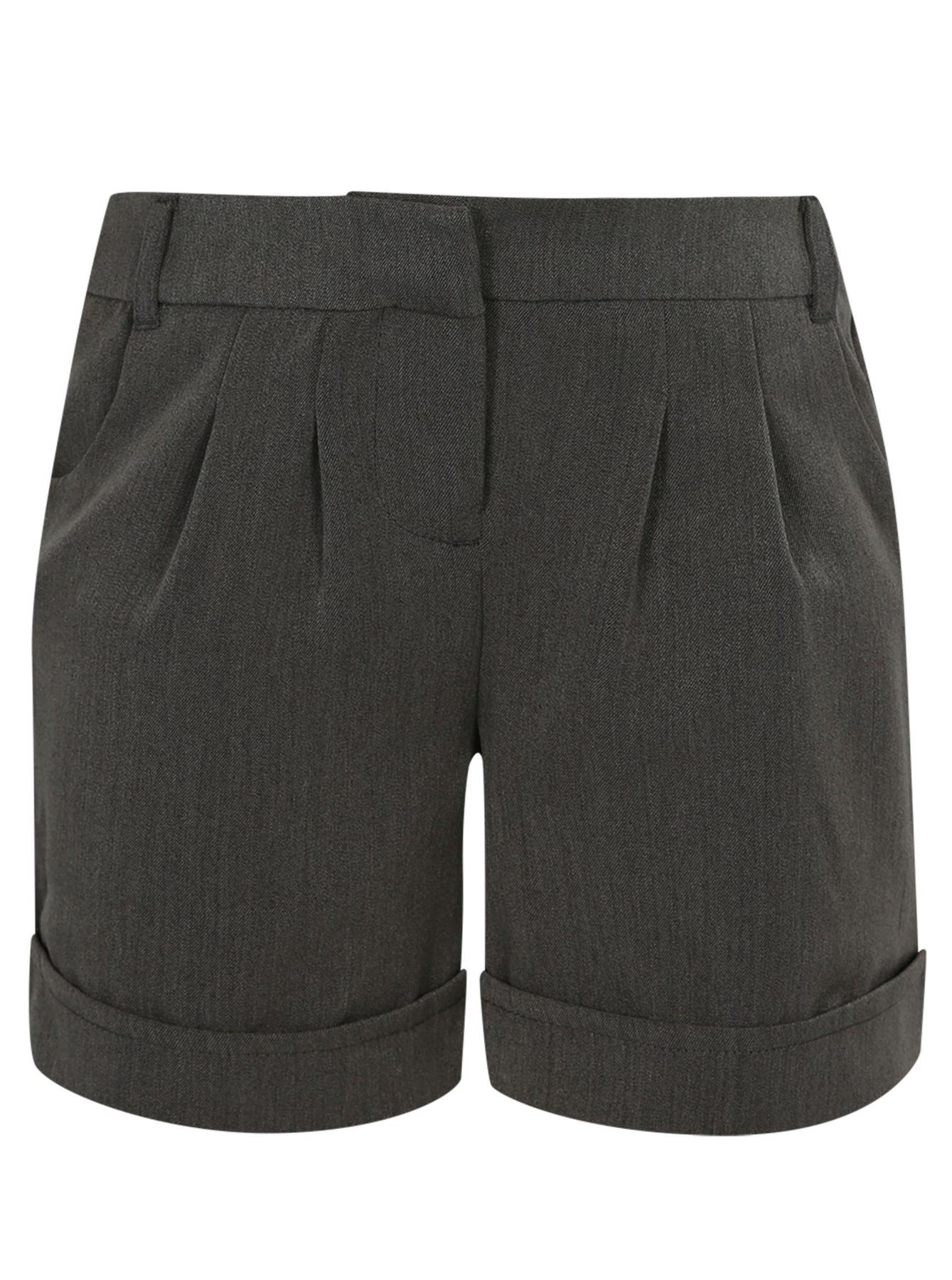 Girls School Uniform Shorts Girls School Pleat City Shorts