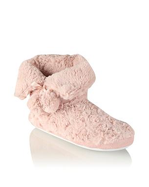 tickled pink slipper boots women george at asda. Black Bedroom Furniture Sets. Home Design Ideas