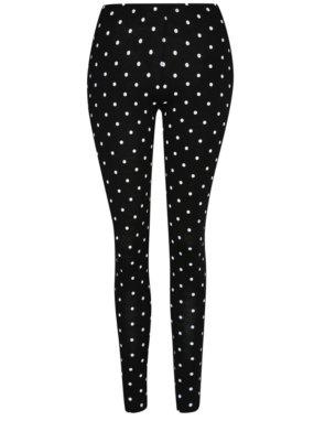 G21 Polka Dot Leggings