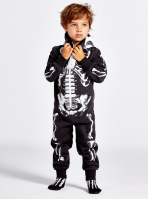 Toddler Skeleton Onesie