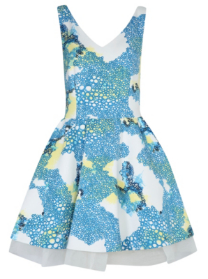 G21 Talent Printed Scuba Dress