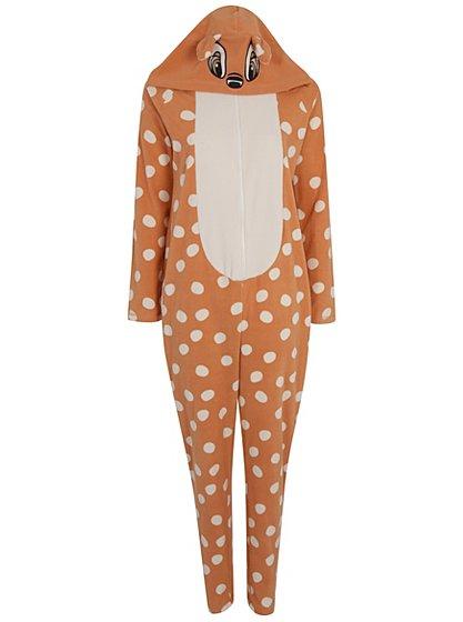 Disney Bambi Onesie Women George At Asda