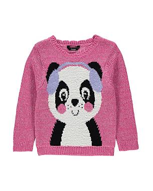 Knitting Pattern Panda Jumper : Product not available