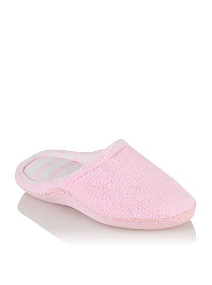 memory foam slippers women george at asda. Black Bedroom Furniture Sets. Home Design Ideas