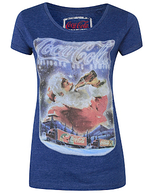 Coca-Cola Christmas T-shirt | Women | George at ASDA