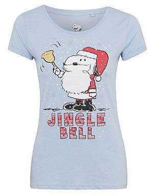 Snoopy Jingle Bell Christmas T-shirt | Women | George at ASDA