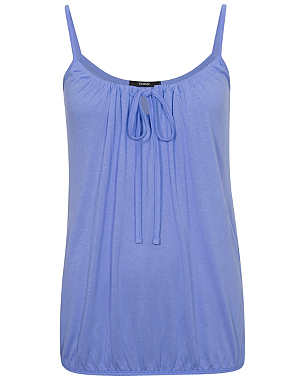 A wardrobe essential versatile enough to wear with skirts trousers or jeans this vest top in a soft drape viscose fabric has a flattering gathered bubble style hem and pleat front detail. Price £ Available in sizes 8 10 12 14 16 18 20 Fabric Composition 96% Viscose 4% Elastane/5(24).