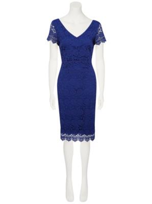 George blue dress