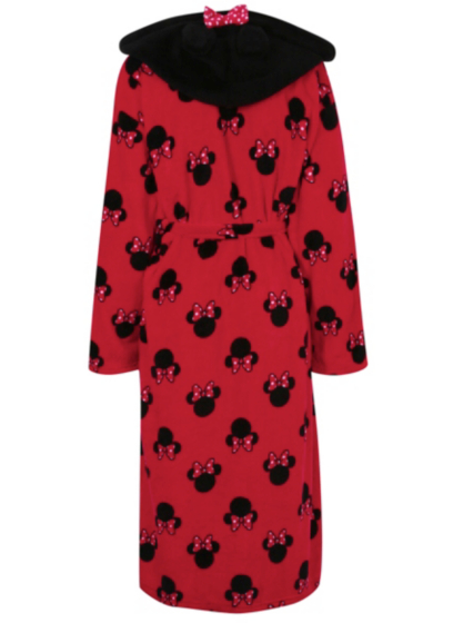 Minnie Mouse Hooded Dressing Gown | Women