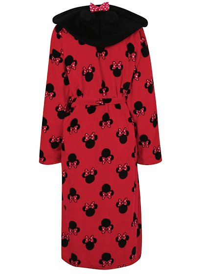 Minnie Mouse Hooded Dressing Gown Women George At Asda