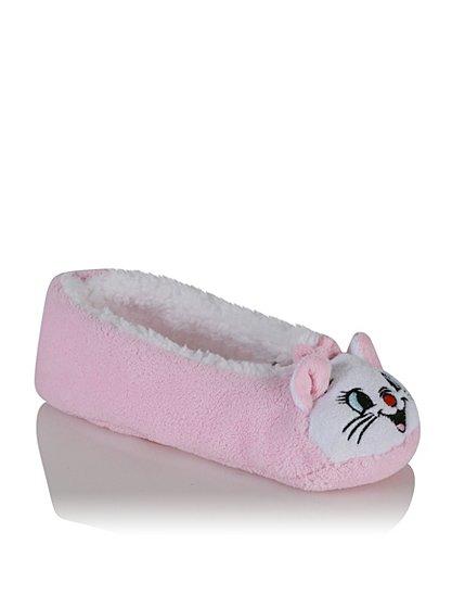 the aristocats marie slipper socks women george at asda. Black Bedroom Furniture Sets. Home Design Ideas