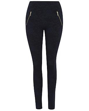ponte jacquard smart leggings women george at asda. Black Bedroom Furniture Sets. Home Design Ideas