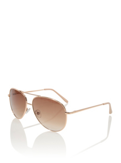 aviator sunglasses womens  Rose Tint Aviator Sunglasses