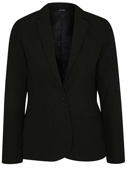 Girls School Slim Fit Blazer - Black | School | George at ASDA
