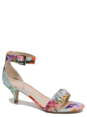 Floral Kitten Heel Shoes QCE0HR8s