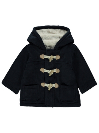 Hooded Duffle Coat | Baby | George at ASDA