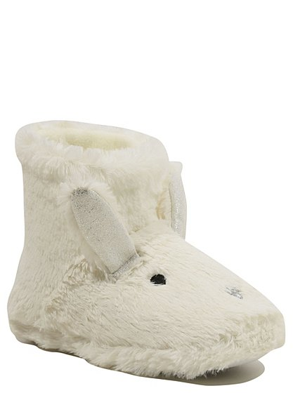 novelty rabbit slipper boots women george at asda. Black Bedroom Furniture Sets. Home Design Ideas