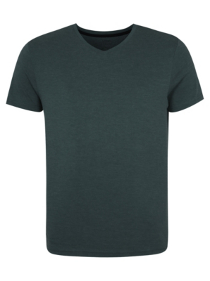V-neck T-shirt - Green