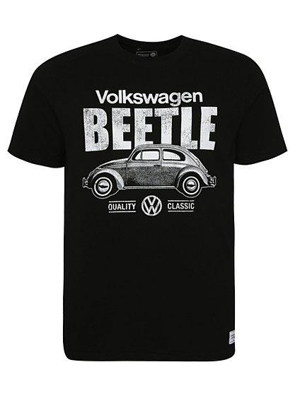 vw beetle t shirt men george at asda. Black Bedroom Furniture Sets. Home Design Ideas
