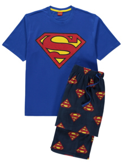 Superman Pyjamas | Men | George at ASDA