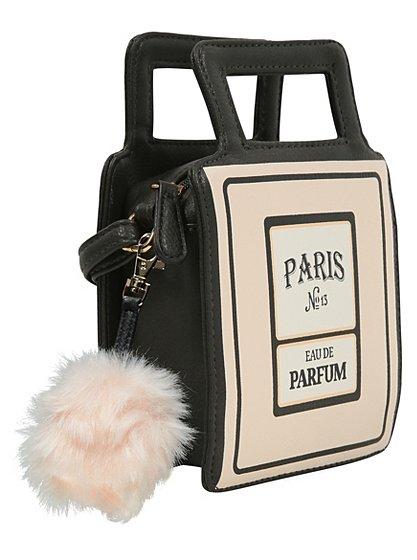perfume bottle shaped bag women george at asda. Black Bedroom Furniture Sets. Home Design Ideas