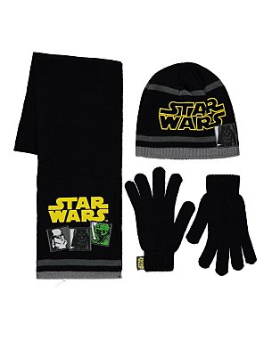 Star Wars Hat Scarf And Gloves Set Kids George At Asda