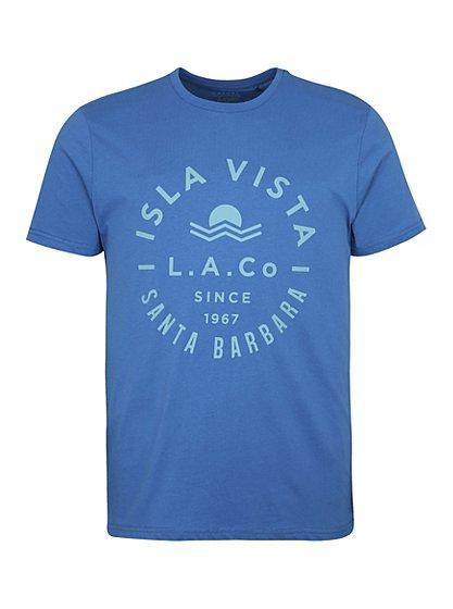 Santa barbara t shirt men george at asda for Santa barbara polo shirt