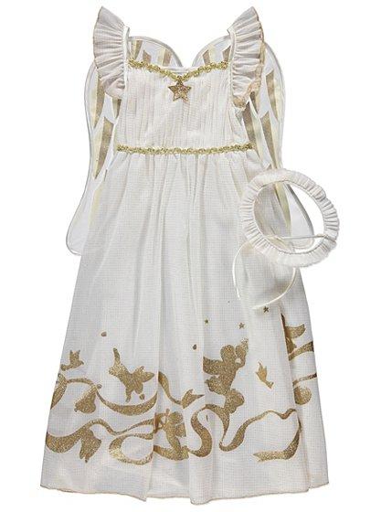 Nativity Angel Fancy Dress Costume Kids George At Asda