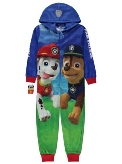Nickelodeon paw patrol onesie kids george at asda