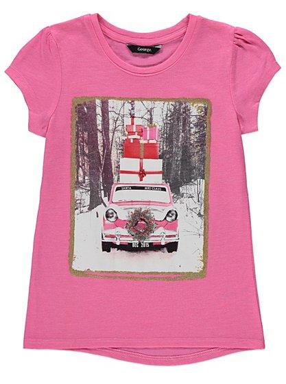 Christmas Present T-shirt | Kids | George at ASDA