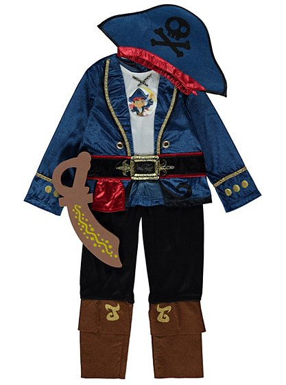 Disney Captain Jake and the Never Land Pirates Fancy Dress ...