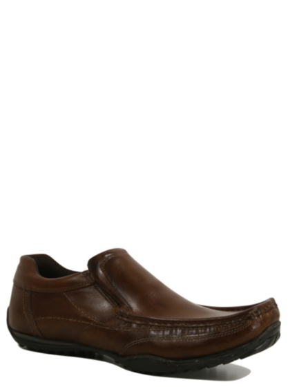 leather slip on formal shoes george at asda