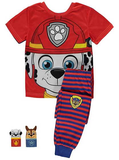Paw Patrol Pyjamas Kids George At Asda