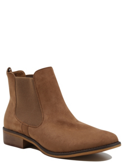 faux suede chelsea boots george at asda