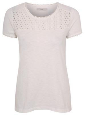 Crochet Panel T-shirt