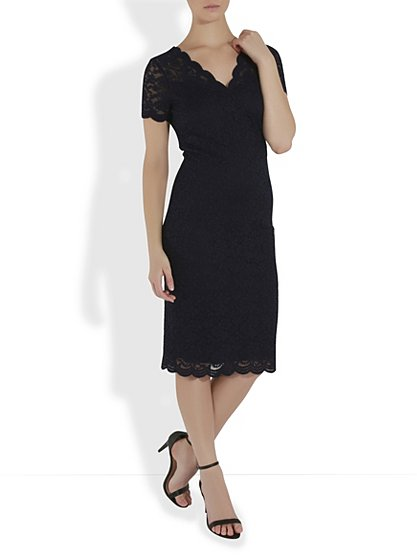 Lace pencil dress women george at asda for George at asda wedding dresses