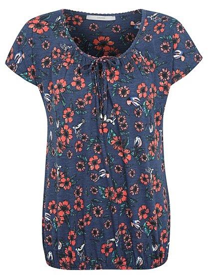 Bubble Hem Floral T-shirt | Women | George at ASDA