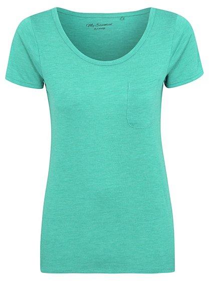 Scoop Neck T-shirt | Women | George at ASDA