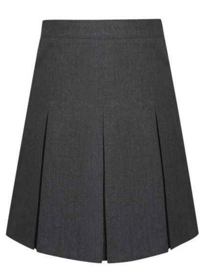 school pleated skirt grey school george at asda