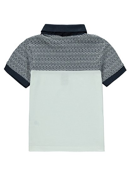 Printed polo shirt kids george at asda for Personalized polo shirts for toddlers