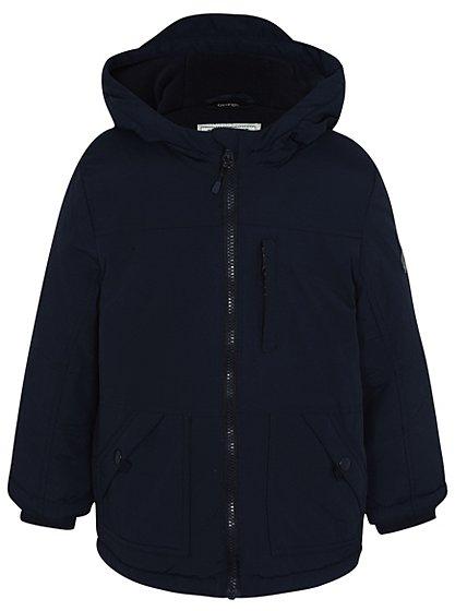 hooded padded jacket kids george at asda. Black Bedroom Furniture Sets. Home Design Ideas