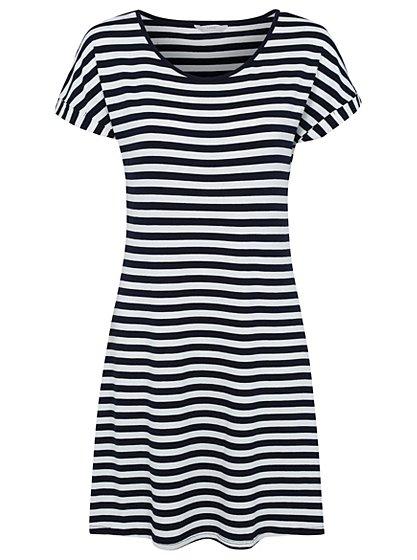 Stripe T-shirt Dress | Women | George at ASDA